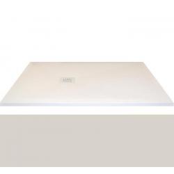 Receveur extra-plat CLASSIC PIZARRA GRIS - bonde latérale