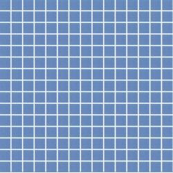 Mosaique piscine Bleu A35 20x20mm - 2.14m²