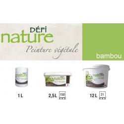 Peinture naturelle végétale vert Bambou