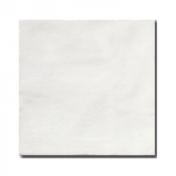 Faience rustique patinée BLANC 15x15 cm - 1m²