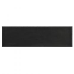 Carrelage uni mat noir anthracite 6.5x20cm COUNTRY ANTHRACITE MAT - 21553 0.5m² Equipe