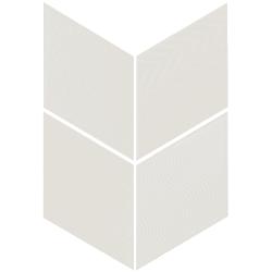 Carrelage losange diamant 14x24cm blanc cassé 21294 RHOMBUS RELIEF MAT - 1m²