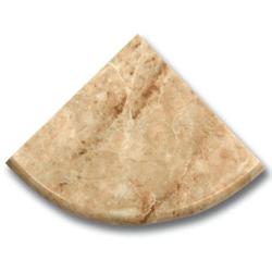 Étagère marbe beige 15x15 cm