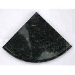 Étagère marbe noir 15x15 cm