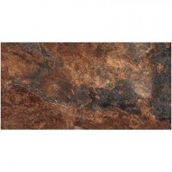 Carrelage effet pierre gris foncé nuancé ARDESIA NATURAL 32x62.5 cm R9 - 1m²
