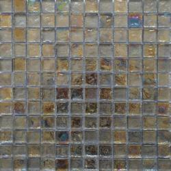 Malla Boreal Perla - Mosaique en verre 30x30cm - unité