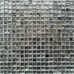 Malla Graffiti Silver - Mosaique en verre 30x30cm - unité