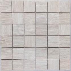 Malla Wood Beige - Mosaique imitation bois - grès cérame 29x29cm - unité