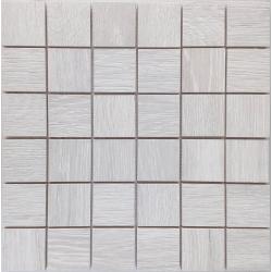 Malla Wood Gris - Mosaique imitation bois - grès cérame 29x29cm - unité