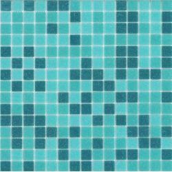 Mosaique piscine Aquamarine  31.5x31.5 cm - 1 m²