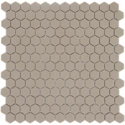 Mosaique Mini tomette hexagonale JUTA23 25x13mm beige sable mat - 0.85m²