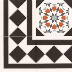 Carrelage 33.3x33.3 cm OXFORD DECO ESQUINA Angle - unité Realonda