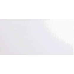 Carrelage métro plat 10x20 cm blanc brillant FLAT BLANCO BRILLO - 1m²