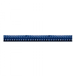Azulejo Sevillano Cordon Azul 3x20 cm - 62 unités Ribesalbes