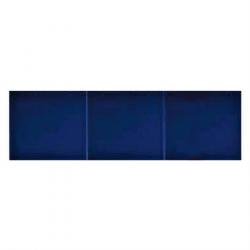 Azulejo Sevillano JEREZ carreau bleu marine 15x20 cm LISO COLLECTION ZOCALO - 0.9m² Ribesalbes