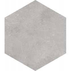 Carrelage hexagonal tomette grise vieillie 23x26.6cm RIFT Cemento - 0.504m² Vives Azulejos y Gres