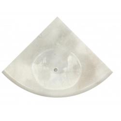 Porte savon afyon white 15x15 cm