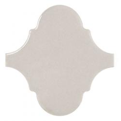 Carreau gris clair brillant 12x12cm SCALE ALHAMBRA LIGHT GREY - 0.43m²
