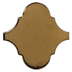Carreau or métallisé 12x12cm SCALE ALHAMBRA METALLIC - 0.43m²