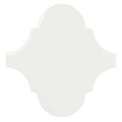 Carreau blanc brillant 12x12cm SCALE ALHAMBRA WHITE 21932 - 0.43m²