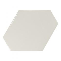 Carreau menthe brillant 10.8x12.4cm SCALE BENZENE MINT - 23831 - 0.44m²