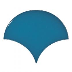 Carreau bleu électrique 10.6x12cm SCALE FAN ELECTRIC BLUE - 0.37m²