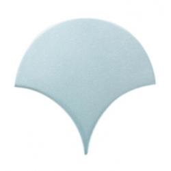 Carreau écaille bleu clair nuancé 12.7x6.2 SQUAMA MAYA - 0.377m²