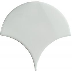 Carreau écaille blanc riz 12.7x6.2 SQUAMA RICE - 0.377m² Natucer