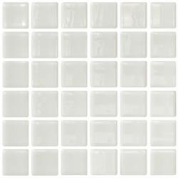 Mosaique blanche 5x5 sur trame 30.7x30.7 BLANCO A-10 - 2 m²