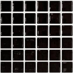 Mosaique noire 5x5 sur trame 30.7x30.7 NEGRO A-11 - 2 m²