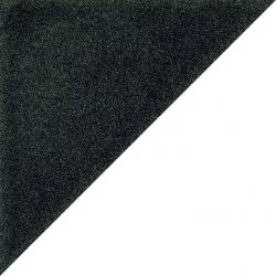 Carrelage scandinave triangulaire noir 20x20 cm SCANDY Antracita R10 - 1m²