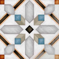 Carrelage imitation ciment 20x20 cm Demel - 1m²