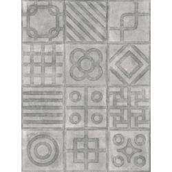 Carrelage imitation ciment 20x20 cm Paulista Cemento anti-dérapant R13 - 1m²