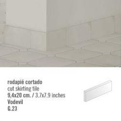 Plinthe intérieur Vodevil. 9.4x20 cm - 2mL