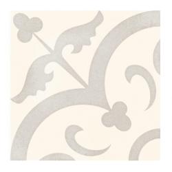 Carrelage imitation ciment pastel 20x20 cm HALVMANE antidérapant R10 - 1m²