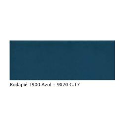 Plinthe intérieur vieillie 1900 9x20 cm BLEU AZUL - 2mL