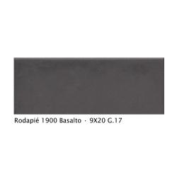 Plinthe intérieur vieillie 1900 9x20 cm GRIS BASALTE- 2mL