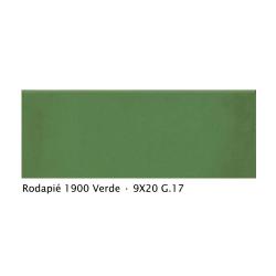 Plinthe intérieur vieillie 1900 9x20 cm VERT - 2mL