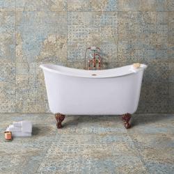 Carrelage décor subtil vieilli CARPET VESTIGE NATURAL 59.2x59.2 cm - R9 - 1.402m²