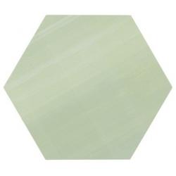 Tomette unie verte série dandelion MERAKI VERDE BASE 19.8x22.8 cm - 0.84m² Bestile