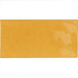Faience effet zellige doré 6.5x13.2 VILLAGE TUSCANY GOLD 25574- 0.5 m²