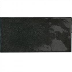 Faience effet zellige noir 6.5x13.2 VILLAGE BLACK 25587 - 0.5m²