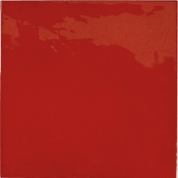 Faience effet zellige rouge 13.2x13.2 VILLAGE VOLCANIC RED 25592 - 1m²