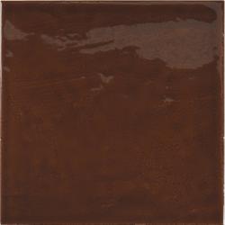 Faience effet zellige marron 13.2 x13.2 VILLAGE WALNUT BROWN 25623 - 1m² Equipe