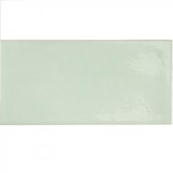 Faience effet zellige vert d'eau 6.5x13.2 VILLAGE MINT 25626 - 0.5 m² Equipe
