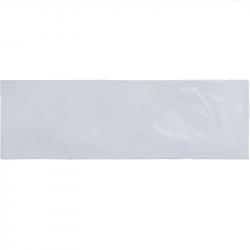 Faience nuancée effet zellige bleu ciel 6.5x20 RIVIERA LAVANDA BLUE 25840-0.5m² Equipe