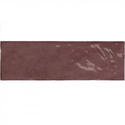 Faience nuancée effet zellige violet 6.5x20 RIVIERA JUNEBERRY 25844- 0.5 m² Equipe