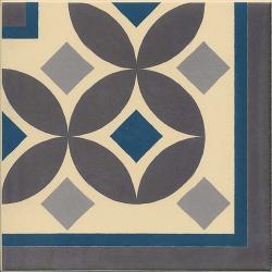 Carrelage imitation ciment 20x20 cm GUELL-3 ANGLE - 1 unité