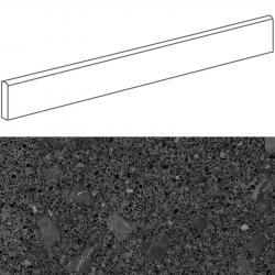 Plinthe style terrazzo granité 9.4x80 cm MISCELA-R Grafito - 12ml