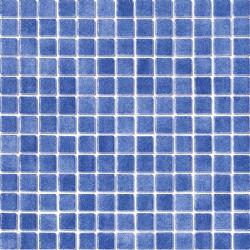 Mosaique piscine émaux de verre BLEU FOG 31.6x31.6 cm - 2 m²